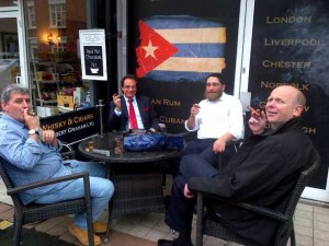 Herf at Robert Graham Whisky and Cigar shop in West Hampstead