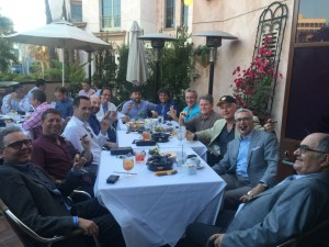 Socal boys herfing at GHR Beverly Hills