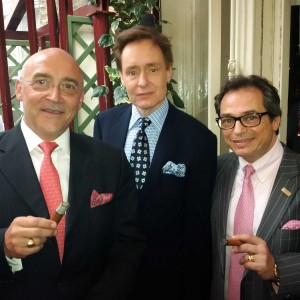 Nick Foulkes and Reinhold from Cigar Journal