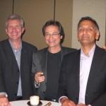 UK contingency ECJ Awards evening. Robert, Mitchell & Parresh