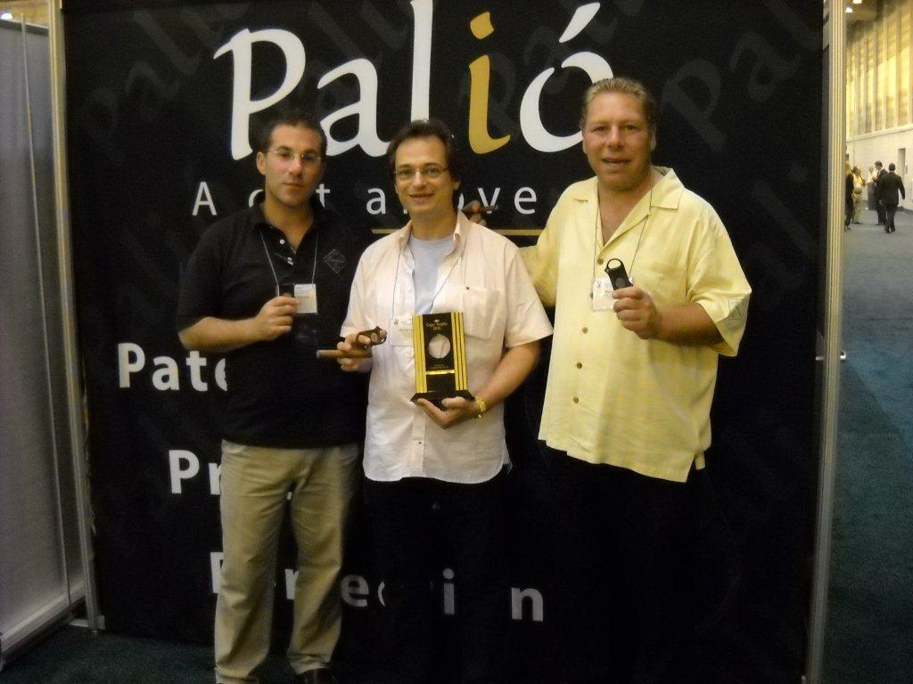 Mitch with Marc and Michael of Palio