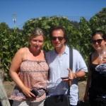 Herfing at the Vogelzang Vineyard