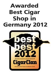 Best Cigar Shop Award