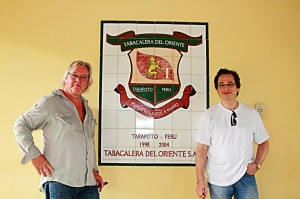 Ron and Mitchell at Tobacalera Del Oriente