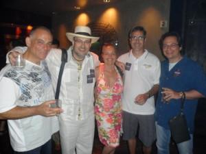 George, Mango Joe, Jenny, Craig and Mitchell at the Torano Party