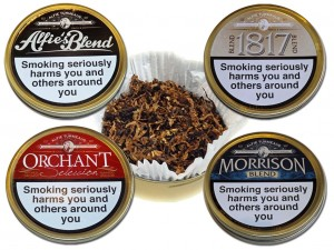 Turmeaus Blend Pipe Tobacco Tins