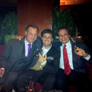 Herfing at the Grand Havana Rooms New York