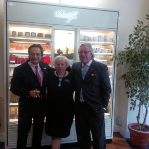 Ron, Linda and Mitchell at our Global Whisky Shop in Glasgow