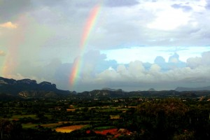Rainbow over Vinales