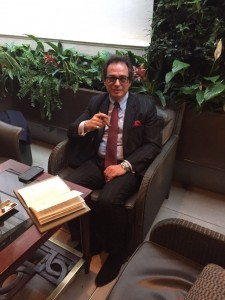 Herfing at the Lanesborough
