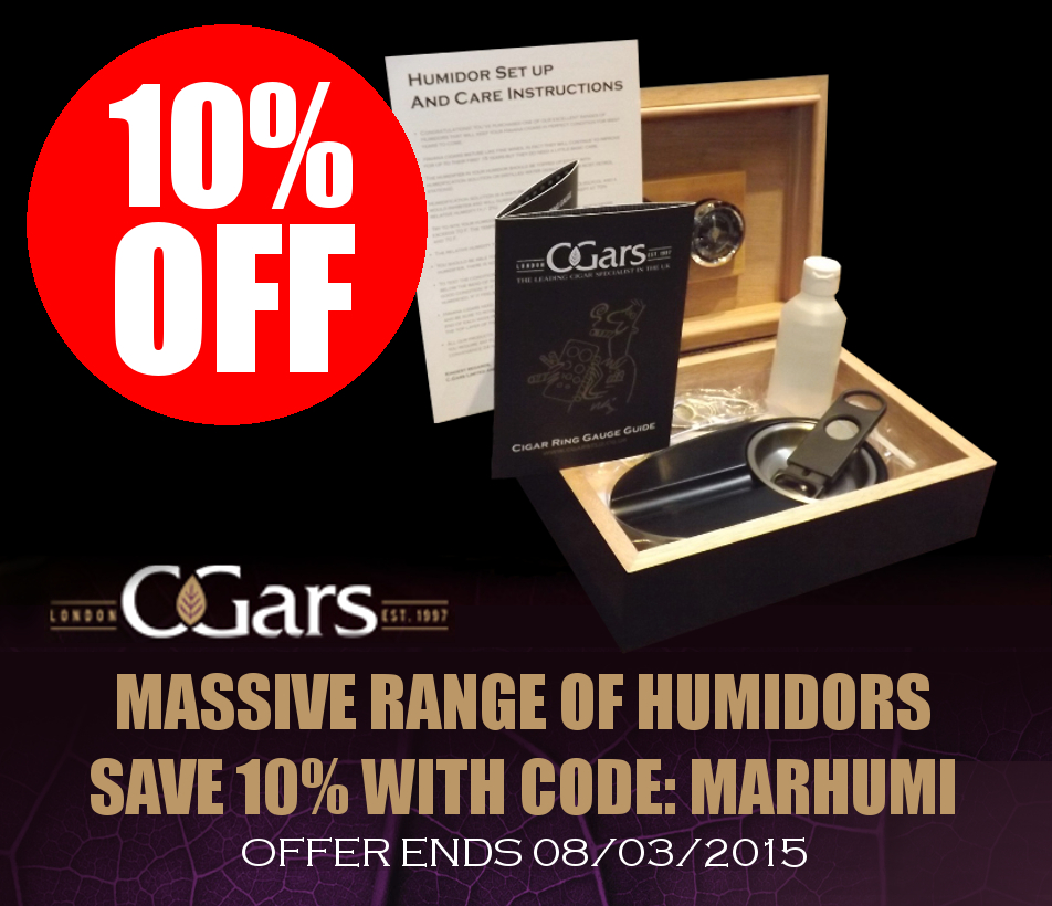 discount on cigar humidors