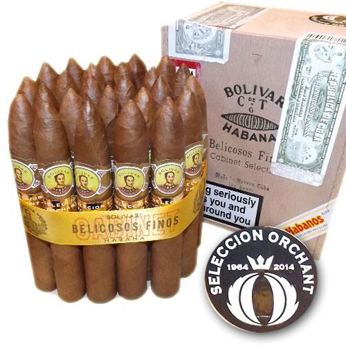 Bolivar Belicosos Finos cigars Orchant Seleccion