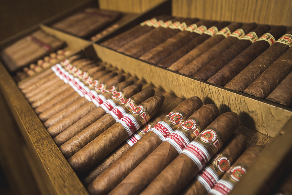 Limited Edition cigars in our walk-in humidor