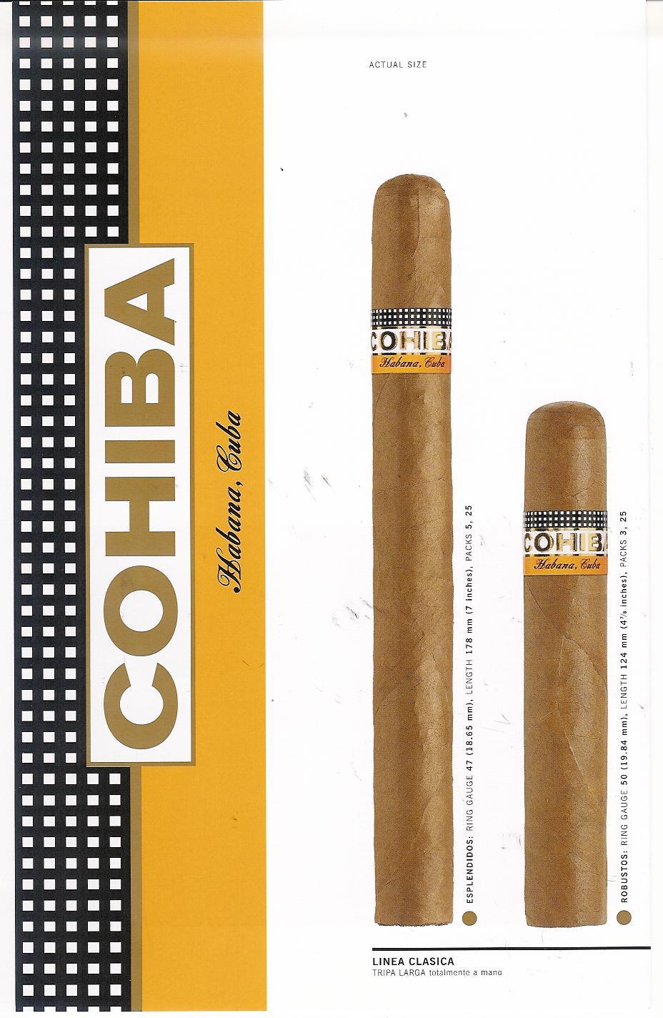 Order Cigars Cohiba Siglo VI | Buy Cigarettes