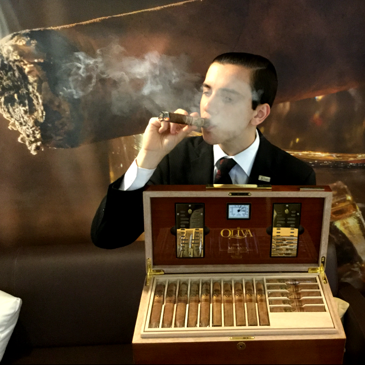 David - Member of staff at Turmeaus Liverpool Cigar Shop