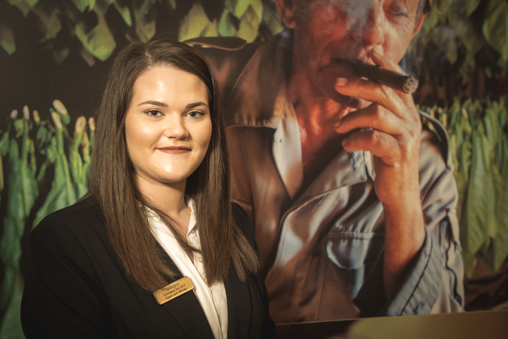 Georgina - Turmeaus Cigar Shop Norfolk