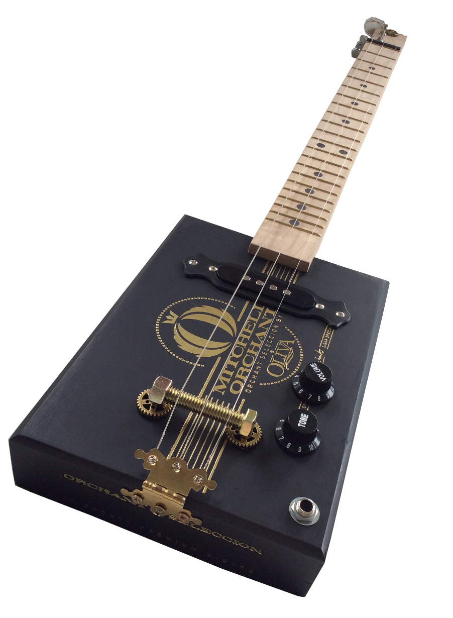 Mitchell Orchant Cigar box guitar
