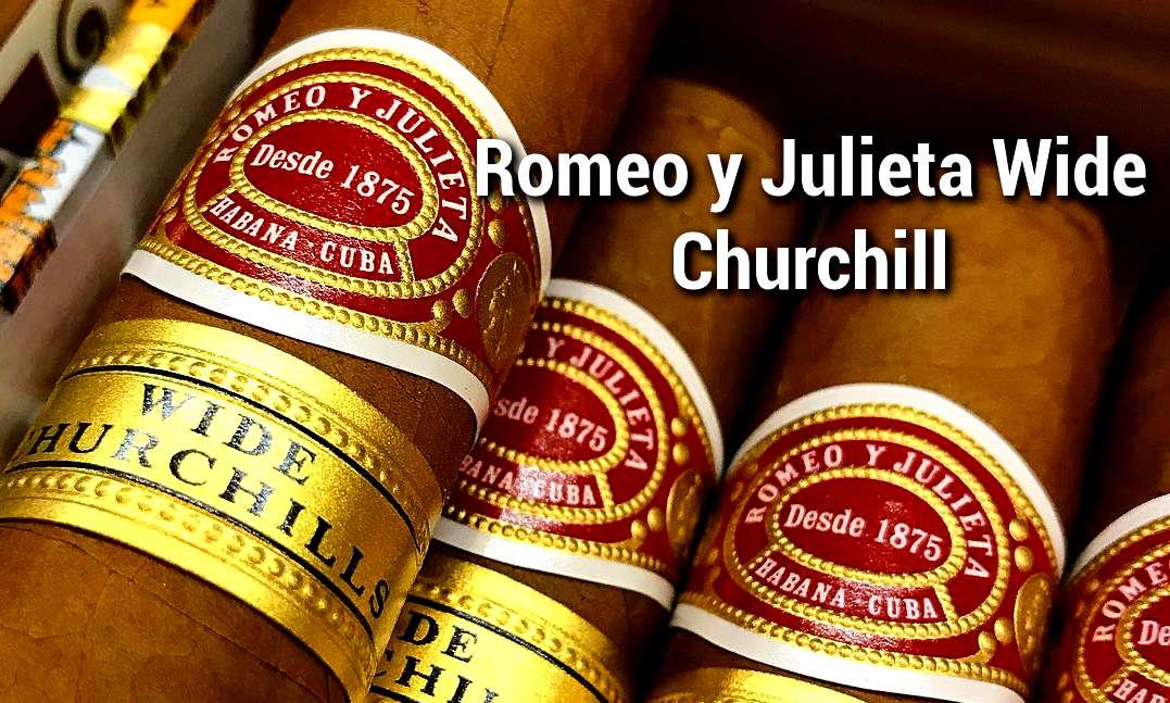 Romeo y Julieta Wide Churchill Banner