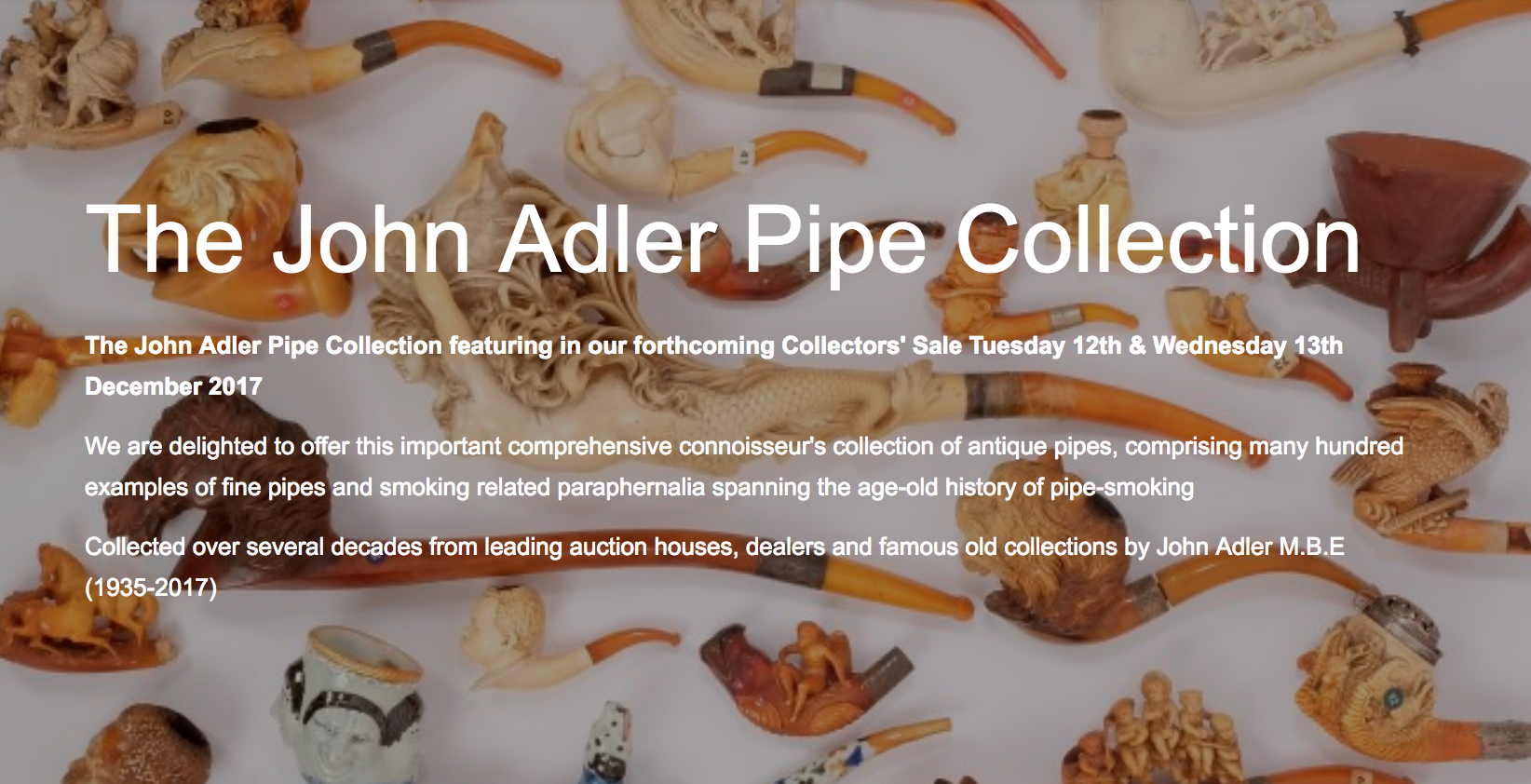 John Adler Pipe Collection