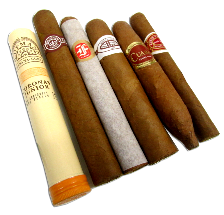 Budget Small Cuban Sampler 6 Cigars