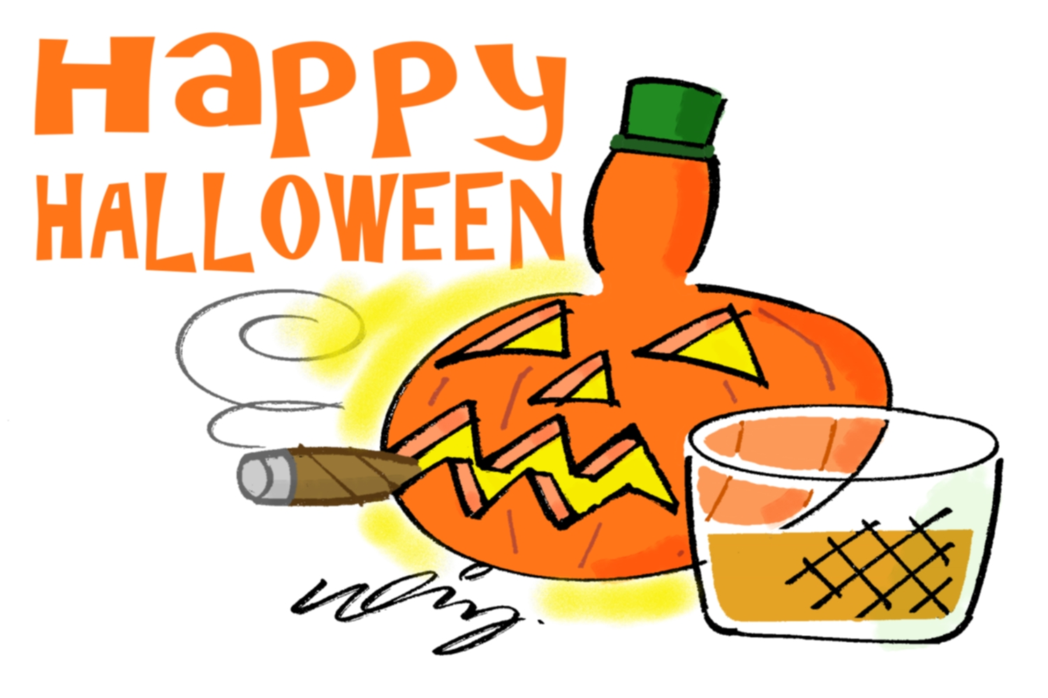 C.Gars Ltd Cigar Halloween