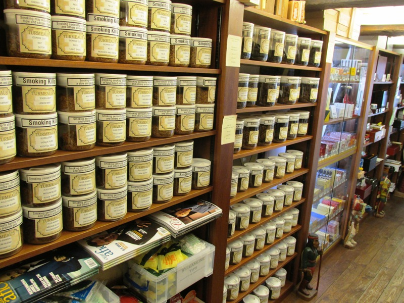 Pipe Tobacco at our Chester Shop