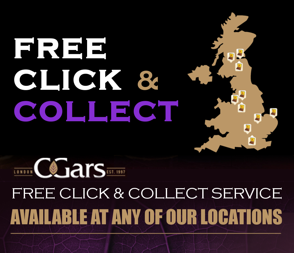 Free Click and Collect Cuban Cigars