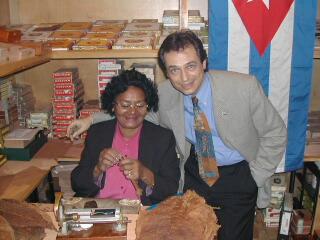 Cigar Roller Photos 2002