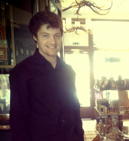 Freddy - Member of staff at the Robert Graham Whisky and Cigar Emporium