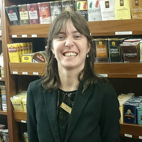 Janelle - Turmeaus Cigar Shop Chester