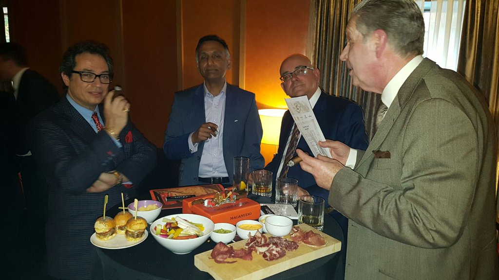Macanudo Inspirado UK Launch Party at the Sahakian Lounge