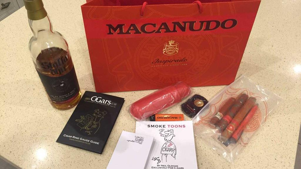 Macanudo Inspirado Goody Bags