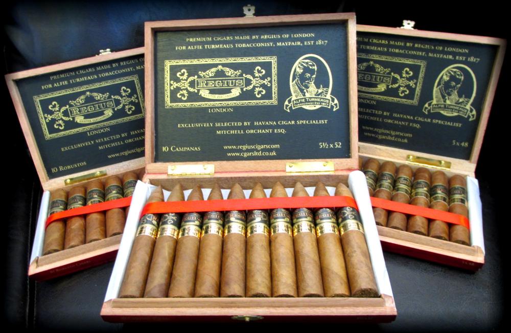 Regius Turmeaus Edition Cigars Banner