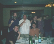 Filly, Billy, CigarTexan, Marc and friends herfing in Vegas with choclotate Martinis!