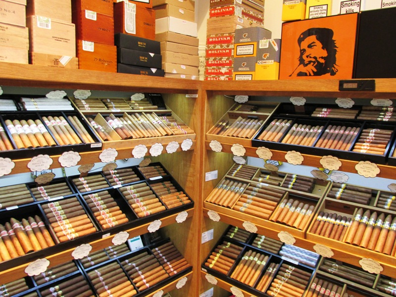 Walk in Humidor in our Liverpool shop