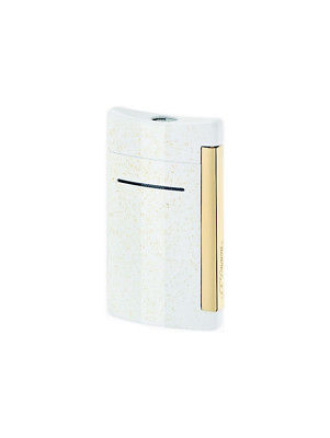 ST Dupont Lighter - Minijet - White & Glitter