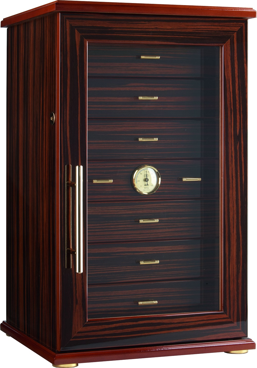 collections retail humidifier holds humidors display havana acrylic shades store cabinet cigars of humidor franklin wood count products cigar commercial hygrometer