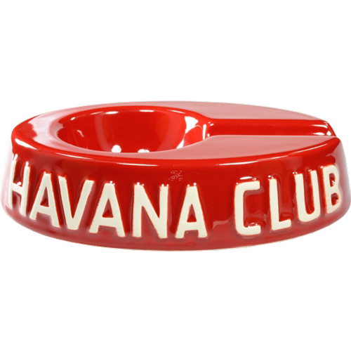 Havana Club Ashtray – Egoista Single Cigar Ashtray – Vermillon Red
