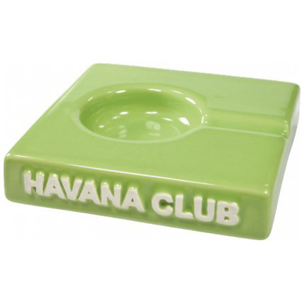 Havana Club Ashtray – El Solito Cigarillo Ashtray – Fennel Green