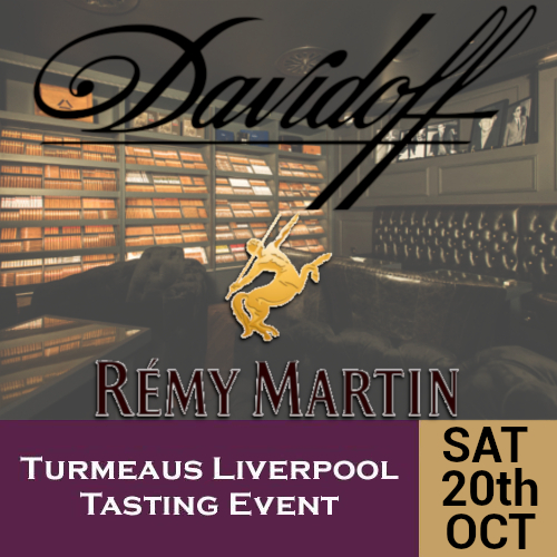 Turmeaus Liverpool Whisky & Cigar Tasting Event - 20/10/18