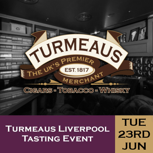 Turmeaus Liverpool Cigar and Whisky Tasting Event - 23/06/20