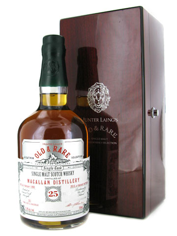 Macallan 25 Year Old 1990 Old & Rare Single Malt Scotch Whisky - 70cl 50.3%