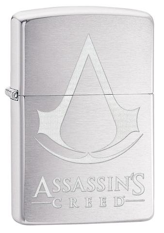 Zippo - Brushed Chrome - Assassin\'s Creed - Windproof Lighter