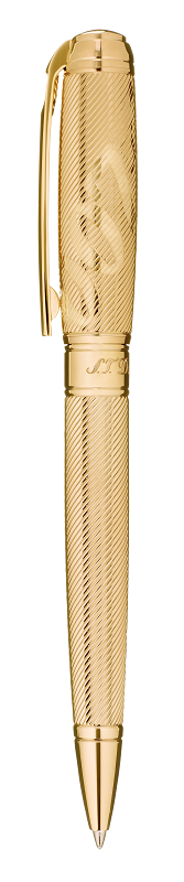 ST Dupont Limited Edition - James Bond 007 - Yellow Gold Ball Point Pen