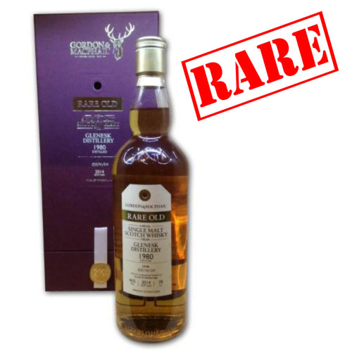 Glenesk 1980 Rare Old Bottled 2014 Single Malt Scotch Whisky - 70cl 46%
