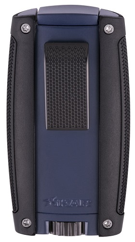 Xikar Turismo Double Jet Lighter - Matte Blue