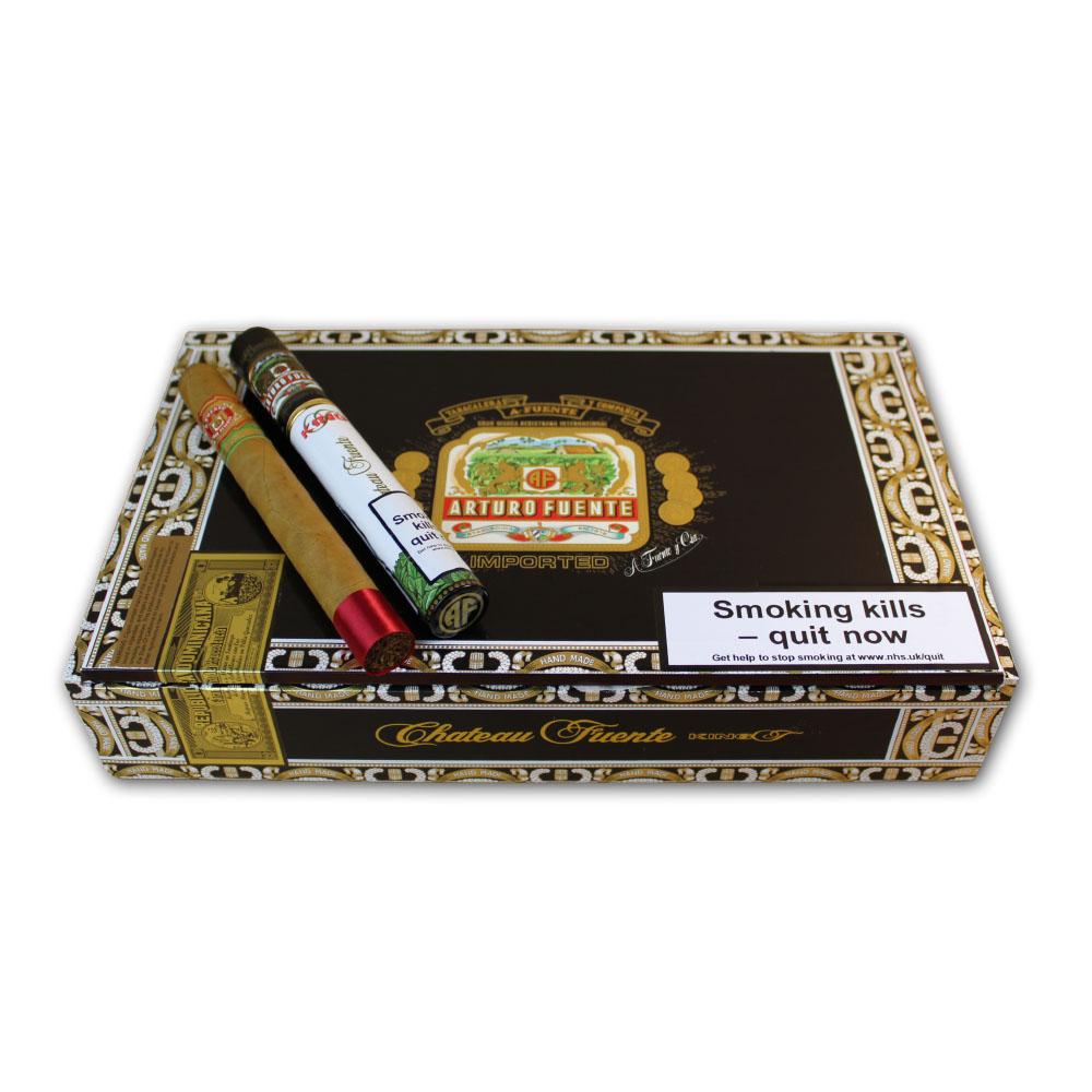 Arturo Fuente Imported Dominican Republic King T Cigar Box-Empty