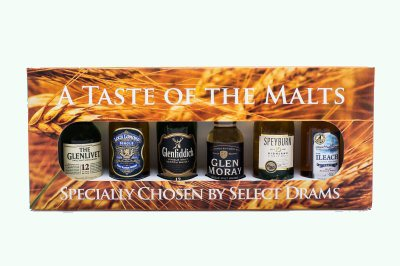 A Taste of the Malts 6x5cl Gift Pack