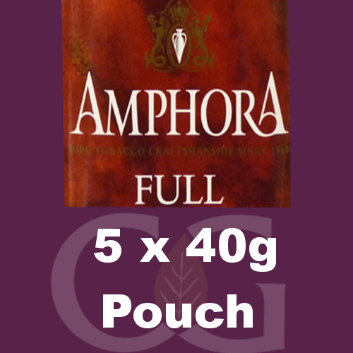 Amphora Full Pipe Tobacco - 5x40g Pouches