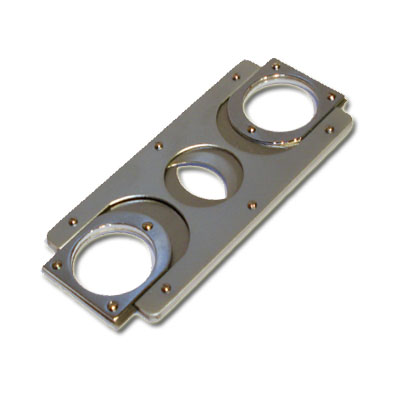 Credit Card Style Cigar Cutter - Satin Chrome